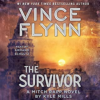 The Survivor                   By:                                                                                                                                 Vince Flynn,                                                                                        Kyle Mills                               Narrated by:                                                                                                                                 Armand Schultz                      Length: 6 hrs and 27 mins     3 ratings     Overall 4.3