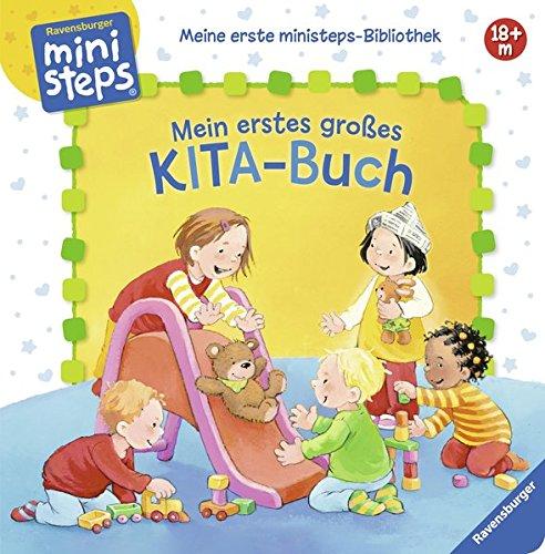 Mein erstes großes KITA-Buch: Ab 18 Monaten (Meine erste ministeps-Bibliothek)