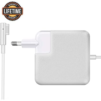 """BONONE - Alimentatore MagSafe 1 da 85 W, Magnetico Caricabatterie per MacBook e MacBook Pro 13""""15""""17"""" pollici con connettore a""""L"""" - Metà 2012, 2013, 2014, Metà 2015"""