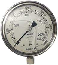High Pressure Gauge Dual Scale 0-2100 BAR /0-30000 PSI Ideal for Common Rail New