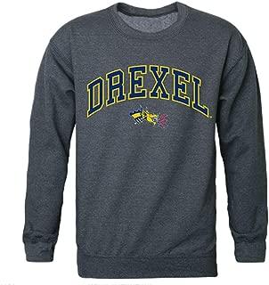 W Republic Drexel University Campus Crewneck Pullover Sweatshirt Sweater Heather Charcoal