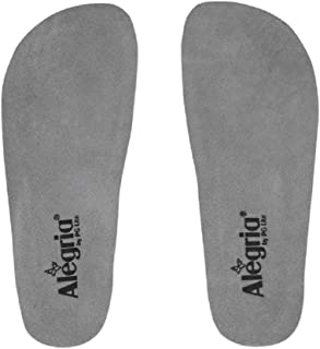 Alegria Replacement Footbed Insert Grey (40)