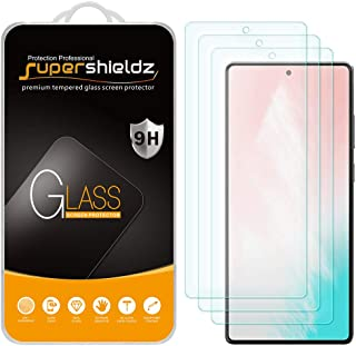 (3 Pack) Supershieldz for Samsung Galaxy S20 FE 5G Tempered Glass Screen Protector, 0.33mm, Anti Scratch, Bubble Free