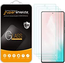 (3 Pack) Supershieldz for Samsung Galaxy S20 FE 5G / Galaxy S20 FE 5G UW Tempered Glass Screen Protector, 0.33mm, Anti Scratch, Bubble Free