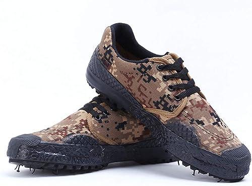 QIAO Chaussures de libération de l'assurance l'assurance l'assurance du Travail pour Hommes et Femmes, Chaussures d'entraîneHommest en Plein air d'entraîneHommest Militaire, antidérapantes résistantes à l'usure,A,39 e0d