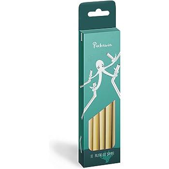 Pajitas Bambú Packawin | Pack 10 pajitas + Limpiador | Producto ...