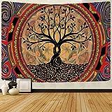 YTLSA Tapiz Tapices Coloridos Abstractos para Colgar en la Pared, tapices para Dormitorio, decoración de fantasía