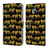 Official Andrea Lauren Design Black Tiger Animals Leather