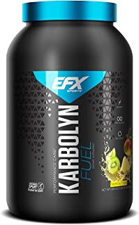 EFX Sports Karbolyn Fuel | Pre, Intra, Post Workout Carbohydrate Supplement Powder | Carb Load, Energize, Improve & Recove...