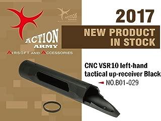 Action Army B01-029 VSR10 Full CNC Left-Hand Tactical Upper for Tokyo Marui VSR-10 Well MB02 MB03