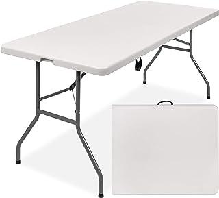 جداول اردوگاه ناهار خوری میز ناهار خوری پلاستیک قابل حمل پلاستیک قابل حمل ، 6 '