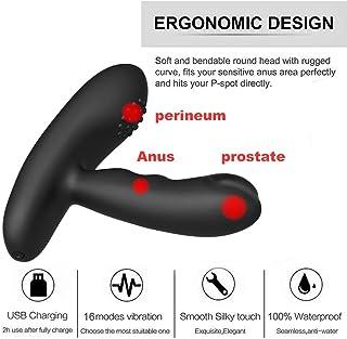 SLH Male G-point Vibratōr Prostate Māssager With 16 Vibration Modes, Prostate Stimulator, Powerful Motor, For P-Spot Testicular Stimulation, Wireless Remote Anal Sēx Toy T-shirt