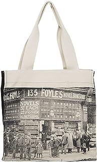 Canvas Shopper Bag Large Capacity Canvas Tote Female Shoulder Bag Fabric Cotton Cloth Reusable Shopping Bag for Women Beac...
