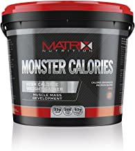 Matrix Nutrition Monster Calories Weight Gain Powder Meal Replacement Shake 4KG Vanilla Estimated Price : £ 26,99