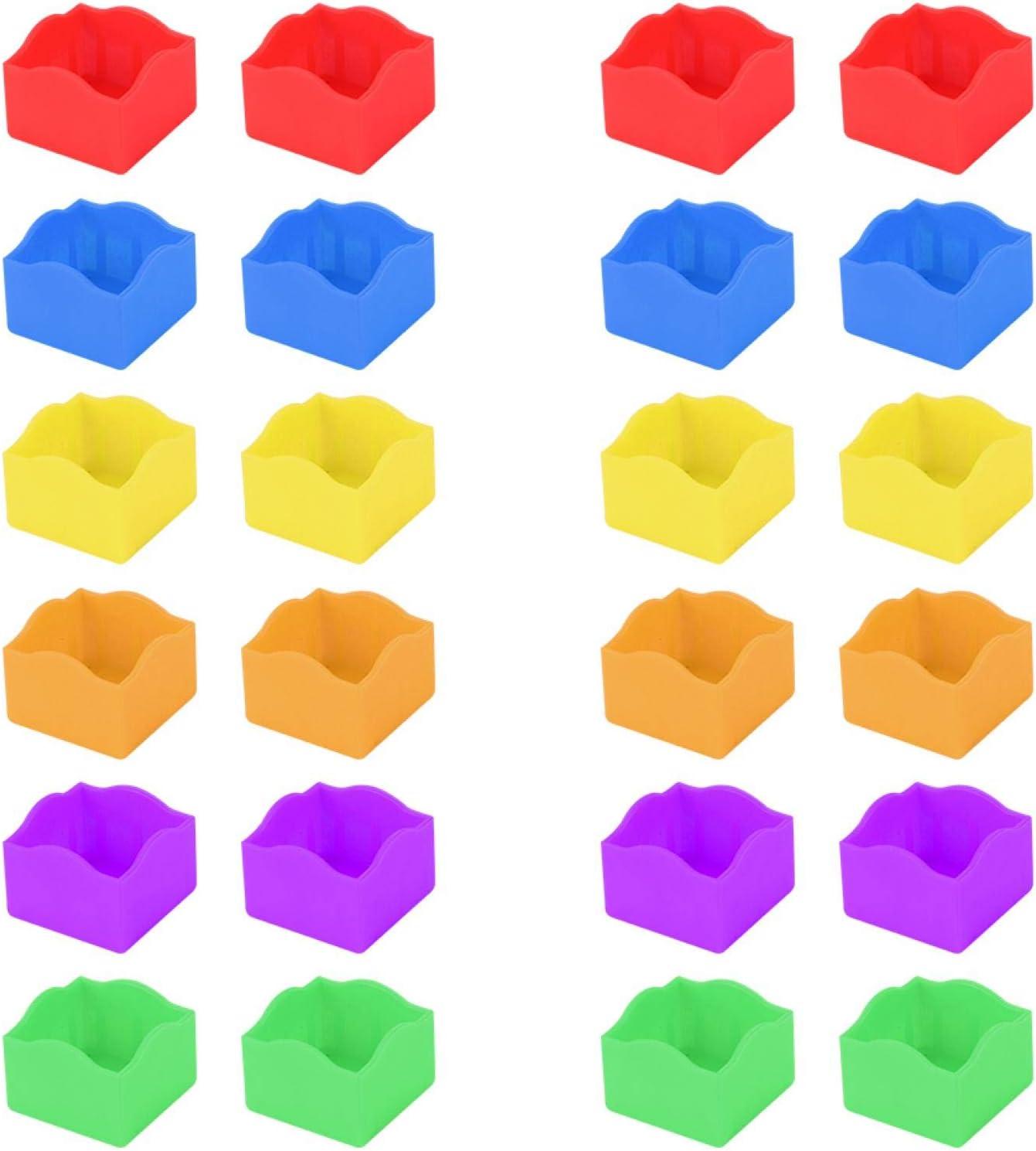 Moh Billiard Chalk Holder 24PCS Ranking TOP3 SALENEW very popular! Portable Bil Multi-Color Plastic