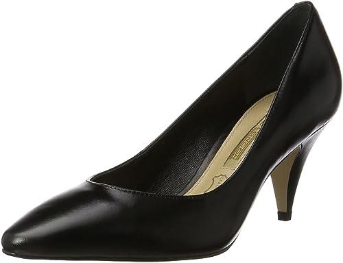 Buffalo London Zs 7446-16 Nappa, zapatos de Tacón para mujer