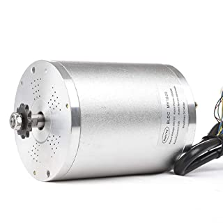 48V 1000W Brushless Mid Drive motor, 1500W 1600W 2000W Electric Bike Motor, High speed motor for Mountain Bike Accessories Go kart Tricycle Scooter Conversion Kit (48V 1600W BLDC Motor)