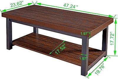 Amazon Com Altra Furniture Extension Coffee Table
