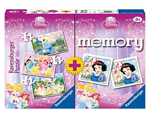 Disney Princesas Juegos (Ravensburger 07228)