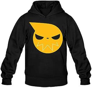 Greenday Men's Hoodies Soul Eater Logo Black