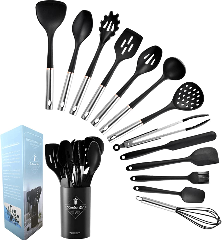 14 Piece Kitchen Utensil Set Stainless Steel Sale item 2021 model Ut Handles