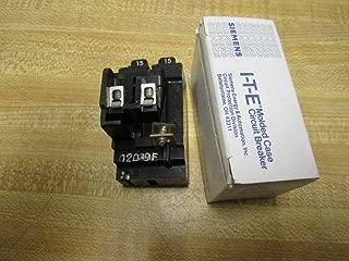 Siemens P1515 Pushmatic Bulldog ITE with Twin 15 AMP Circuit Breaker