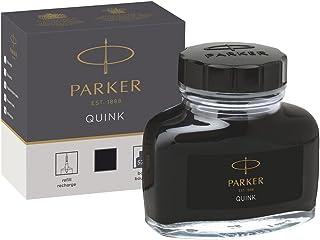 Parker 1950375 Quink Vulpeninkt In Inktvat, 57 ml, Zwart