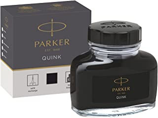Parker 1950375 Quink Ink Bottle, Black, 57 ml