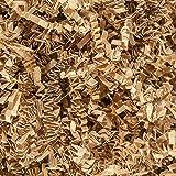 Papel de corte arrugado 100 g de papel para envolver regalos de trituración relleno para embalaje (marrón claro)