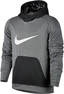 Men's Dri-Fit Fly Since Day One Pullover Hoodie 885837-060 Heather Grey/Charcoal Grey (X-Large)