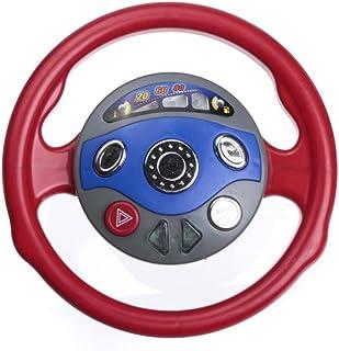 amzmonnsuta  玩具車 ステアリングホイール ホーン・電子音 子供ゲーム 窓側の席