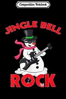 Composition Notebook: Jingle Bell Rock - Christmas Journal/Notebook Blank Lined Ruled 6x9 100 Pages