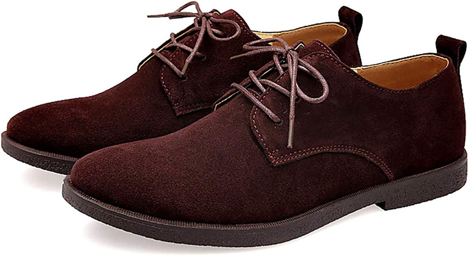 Men's shoes Spring Fashion Trend Men Casual shoes Scrub Suede shoes Retro Small Size Oversized Size