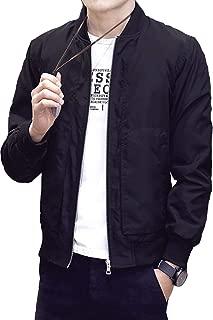 [ ナチュシー ] メンズ ブルゾン ジャケット ジャンパー MA-1 エムエーワン ma 1 フライト ミリタリー ジャン 薄手 アウター
