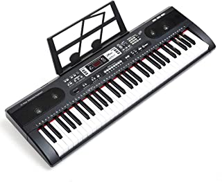 ZHRUNS 61 Key Multifunctional Musical Electronic Keyboard Pi