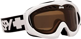 Spy Optic White Targa Mini Goggles Eyewear - Bronze / One Size Fits All