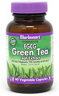 BlueBonnet EGCG Green Tea Leaf Extract Supplement, 60 Count