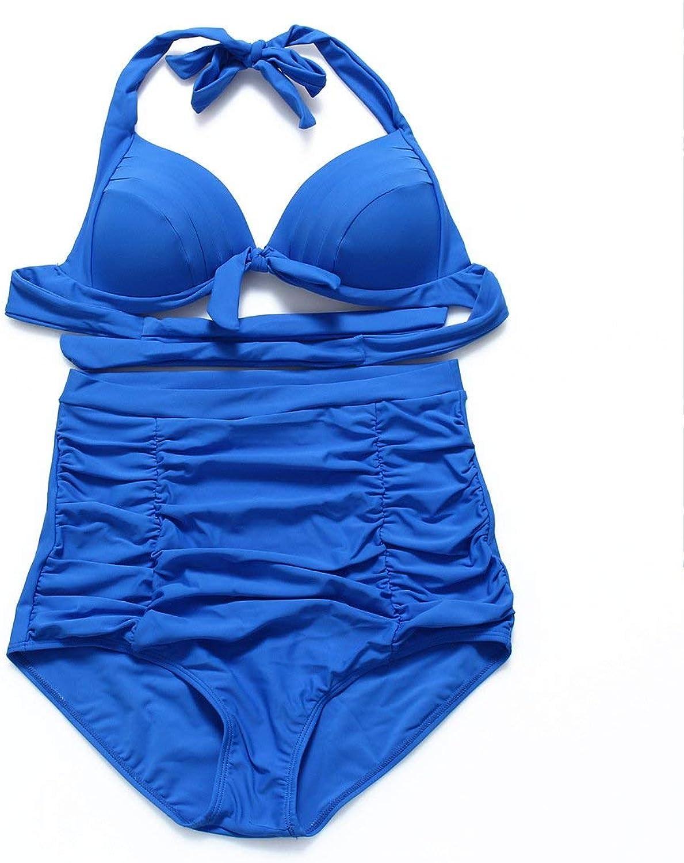 FuweiEncore Präsident Bikini Dot Dot Dot - Hohe Größe zusammengenommen, Mehrfarbig, Blau, 4XL (Farbe   Wie Gezeigt, Größe   Einheitsgröße) B07M7G9M5K  Flagship-Store 0e1ead