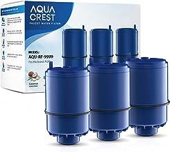 AQUACREST RF-9999 NSF Certified Water Filter, Replacement for Pur RF9999 Faucet Water Filter, Pur Faucet Model FM-2500V, FM-3700, PFM150W, PFM350V, PFM400H, PFM450S, Pur-0A1 (Pack of 3)