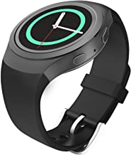 MoKo Watch Band Compatible with Gear S2, Soft Silicone Replacement Sport Band fit Gear S2 (SM-R720 / SM-R730 ONLY) Smart, ...
