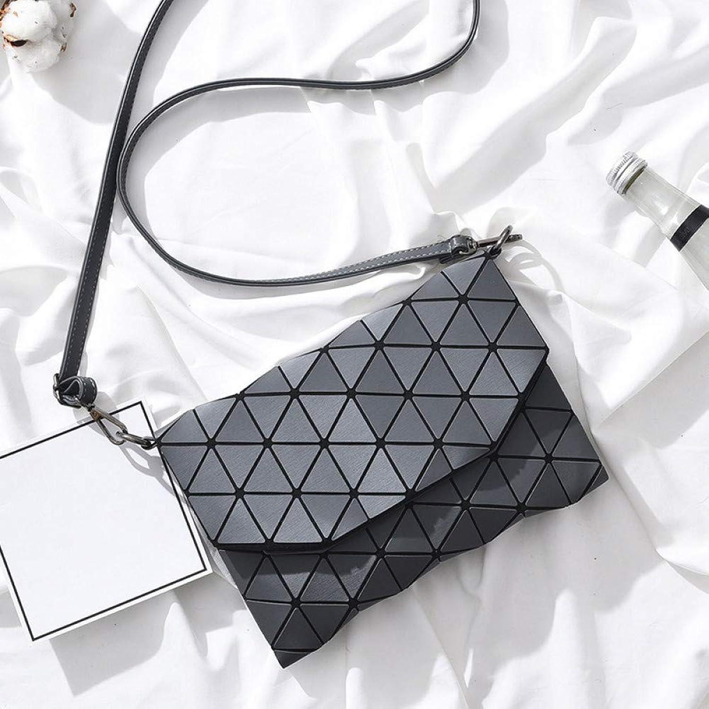 JQSM Luminous Bao Bag Women Messenger Shoulder Bags for Women Casual Clutch Evening Bag Fold Over Handbags Geometric Bao Bag