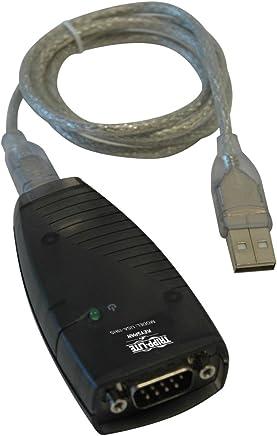 Tripp Lite Keyspan High-Speed USB to Serial Adapter, PC & Mac (USA-19HS)