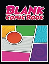 Blank Comic Book: Comic Book Blank | Blank Comic Book Draw Your Own Comics For Kids | Blank Comic Book for Kids and Adults...