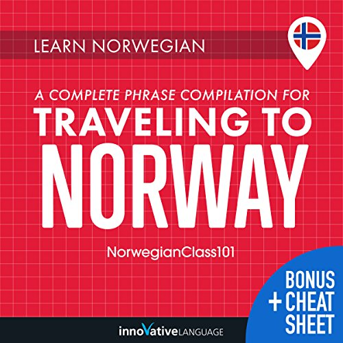Learn Norwegian: A Complete Phrase Compilation for Traveling to Norway cover art