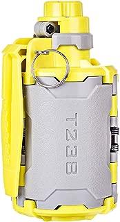 Goshfun T238 V2 Grenade, Tactical Foam Bullet Ball Grenade Water Bullet Bomb for Nerf CS Game - Grey + Yellow
