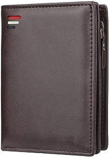 Men's short zipper wallet, multi-card slot fashion vertical business casual coin purse, bi-fold men's clutch bag, 12 * 9 *...