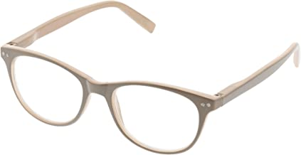 Peepers Women's Mellow Out - Taupe 2519250 Cateye Reading Glasses, Taupe, 2.5
