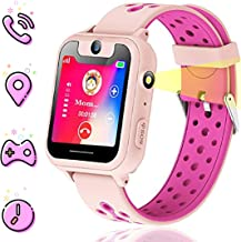 Themoemoe Kids smartwatch, Kids GPS Watch Gifts for 4-12 Year Old Girls Touchscreen..