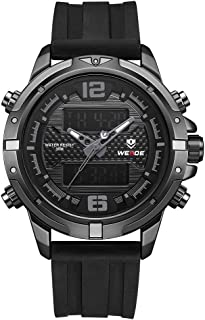 Digital Watch Outdoor Sports Waterproof Stopwatch Calendar Alarm Clock Wristwatch