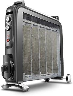 Ama Calentador de Calefacción Eléctrica para el Hogar Película Estufa Vertical Estufa Radiador Eléctrico Ahorro de Energía Eléctrica Ropa de Bebé Calentador de Calefacción,Negro,Calefacción elé
